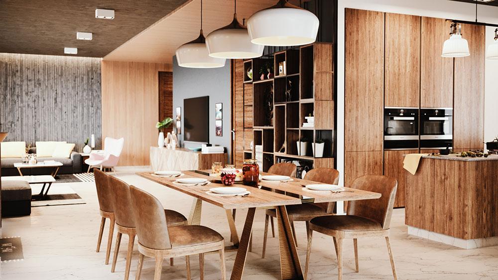 Architectural interior rendering service