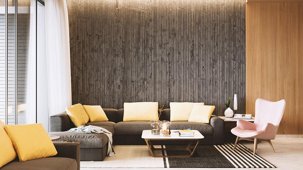 Professional architectural interior rendering
